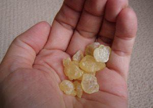 image of mastic gum